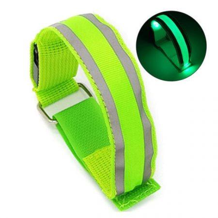 Led Armband – Reflecterend met LED