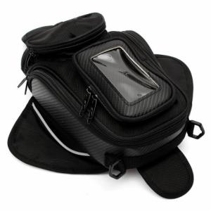 Tanktas Motorbagage met Telefoonhouder / GPS – Zwart